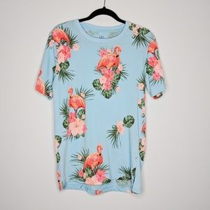 George Tropical Flamingo T Shirt